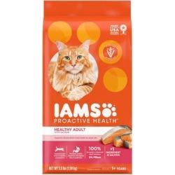 Iams ProActive Health With Salmon Adult Healthy Dry Cat Food, 3.5 lbs.