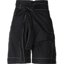 Bermuda Shorts - Black - P.A.R.O.S.H. Shorts found on Bargain Bro India from lyst.com for $179.00