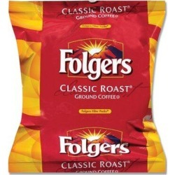 Folgers Premeasured Coffee in Filter, Regular, 0.9oz Filters, 160 per Box in Brown, Size 23.25 H x 13.0 W x 10.5 D in | Wayfair FOL06114 found on Bargain Bro Philippines from Wayfair for $94.62