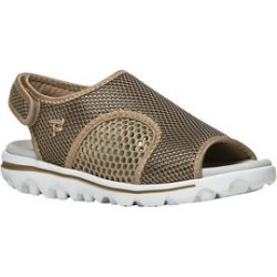 Women's TravelActiv SS Sneakers by Propet in Gold Black (Size 9 1/2 M) found on Bargain Bro from Woman Within for USD $41.79