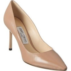 Jimmy Choo Romy 100 Patent Pump (41), Women's, Pink(leather) found on MODAPINS from Overstock for USD $560.99