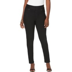 Plus Size Women's Comfort Waistband Skinny Jeans by Jessica London in Black (Size 12 W) found on Bargain Bro Philippines from Ellos for $44.99
