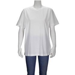 Maison Margiela Short-sleeve Logo Patch Cotton T-shirt, Brand - White - MM6 by Maison Martin Margiela Tops found on Bargain Bro from lyst.com for USD $83.60