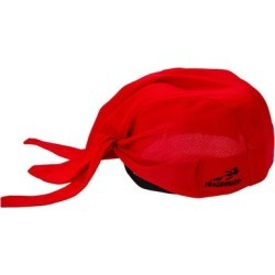 Headsweats Red Customizable Eventure Fabric Adjustable Chef Bandana / Do Rag found on Bargain Bro India from webstaurantstore.com for $9.99