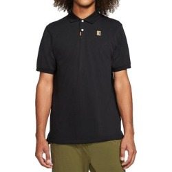 Nike Heritage Standard Polo Shirt (M), Men's, Black(cotton) found on Bargain Bro India from Overstock for $43.99