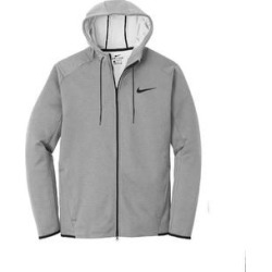 Nike Therma-FIT Textured Fleece Full-Zip Hoodie (S - Grey), Men's, Gray found on MODAPINS from Overstock for USD $84.99