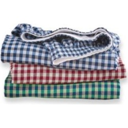 Men's Munsingwear® Woven Cotton Boxers 3-Pack, Checks 3XL found on Bargain Bro India from Blair.com for $32.99