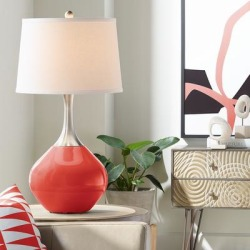 Cherry Tomato Spencer Table Lamp found on Bargain Bro from LAMPS PLUS for USD $98.79