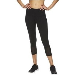Reebok Womens Vigor Highrise Compression Athletic Pants (Black - Large), Women's(polyester) found on Bargain Bro Philippines from Overstock for $31.92