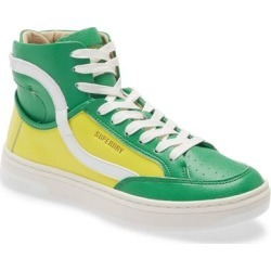 Basket High Top Sneaker - Green - Superdry Sneakers found on Bargain Bro Philippines from lyst.com for $90.00