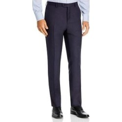 John Varvatos Star USA Mens Dress Pants Wool Plaid - Navy - 36 (Navy - 36), Men's, Blue found on Bargain Bro Philippines from Overstock for $104.85