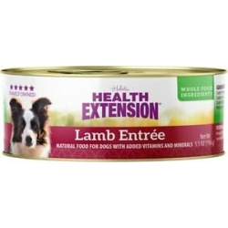 Health Extension Lamb Entree Canned Dog Food, 5.5-oz, case of 24