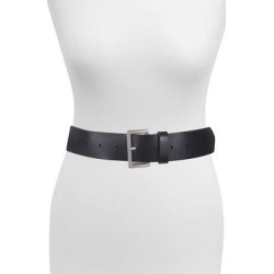 Studded Woven Leather Belt - Black - AllSaints Belts found on Bargain Bro India from lyst.com for $99.00