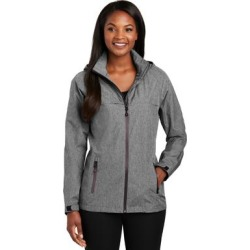 Port Authority L333 Women's Torrent Waterproof Jacket in Dark Grey Heather size Medium   Polyester found on Bargain Bro from ShirtSpace for USD $41.92