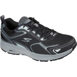 Skechers Men's Sneakers BKGY - Black & Gray GOrun Consistent Sneaker - Men found on Bargain Bro Philippines from zulily.com for $49.99