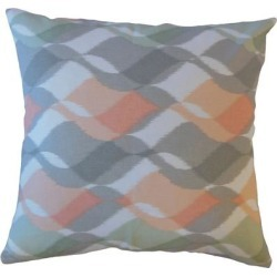 Porch & Den Culbertson Waving Graphic Throw Pillow found on Bargain Bro from Overstock for USD $53.19
