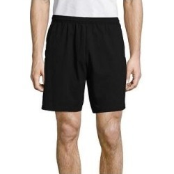 petite Hanes Men's Jersey Pocket Short (Black - 2XL) found on Bargain Bro from Overstock for USD $13.22