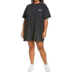 Sportswear T-shirt Dress - Black - Nike Dresses found on Bargain Bro from lyst.com for USD $53.20