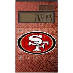 San Francisco 49ers Football Design Desktop Calculator found on Bargain Bro from nflshop.com for USD $22.79