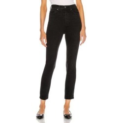Piper Super High Rise Stretch Slim - Black - GRLFRND Jeans found on MODAPINS from lyst.com for USD $195.00