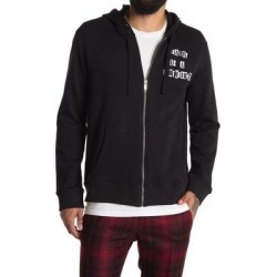 It Seemed To Be The End Hooded Zipper Jacket - Black - Valentino Jackets found on Bargain Bro India from lyst.com for $800.00