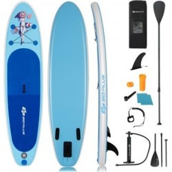 Costway 10' Inflatable Stand Up Paddle Board with Adjustable Paddle Pump found on Bargain Bro Philippines from Costway for $249.95