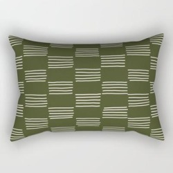 Hatches - small Doug Fir Rectangular Pillow by Urban Wild Studio Supply - Small (17