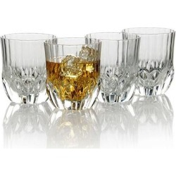 Mikasa Opus 4-pc. Double Old-Fashioned Glass Set, Multicolor, 2 OLDFASHN found on Bargain Bro Philippines from Kohl's for $29.99