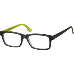 Zenni Rectangle Prescription Glasses Green Plastic Frame found on Bargain Bro India from Zenni Optical for $15.95