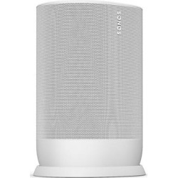 Sonos Move portable amplified wireless music player (lunar white) found on Bargain Bro from Crutchfield for USD $303.24