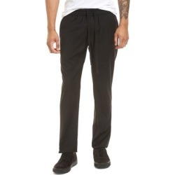 Slim Fit Wool Track Pants - Black - Vince Pants found on Bargain Bro from lyst.com for USD $91.20