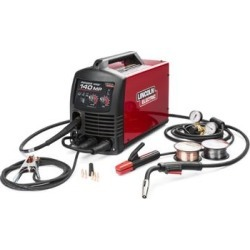 Lincoln Power Mig 140 MP Multi Process Welder (K4498-1) found on Bargain Bro India from weldingsuppliesfromioc.com for $875.00