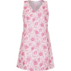 Linen Henny Dress: Pomegranate - Pink - Pink House Mustique Dresses found on Bargain Bro from lyst.com for USD $180.12