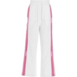 Logo Trim Track Pants - White - MSGM Pants found on MODAPINS from lyst.com for USD $222.00