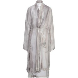 Overcoat - Gray - Masnada Coats found on MODAPINS from lyst.com for USD $376.00