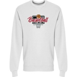Basketball (vintage Style) Sweatshirt Men's -Image by Shutterstock (L), White(cotton) found on Bargain Bro Philippines from Overstock for $24.99