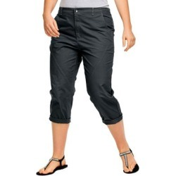 Plus Size Women's Seamed Capris by ellos in Black (Size 18) found on Bargain Bro Philippines from Roamans.com for $29.90