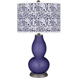 Valiant Violet Gardenia Double Gourd Table Lamp found on Bargain Bro from LAMPS PLUS for USD $113.99