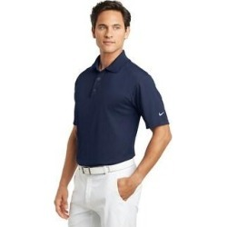 Nike Men's Basic DRI-FIT Polo Assorted Colors (M - Navy), Blue(knit, embroidered) found on Bargain Bro India from Overstock for $56.99