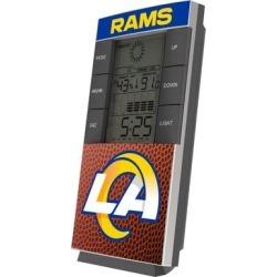 Los Angeles Rams Football Digital Desk Clock found on Bargain Bro from nflshop.com for USD $26.59