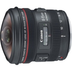 Canon EF 8-15mm f/4L Fisheye USM Lens found on Bargain Bro from Crutchfield for USD $949.24