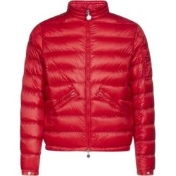 Mens Quilted Jacket In Red - Red - Moncler Jackets found on Bargain Bro from lyst.com for USD $455.24