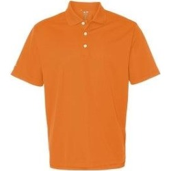 Adidas Men's Casual Sports Shirt Assorted Bold Colors (Bright Orange/White - XXXL)(knit, Solid) found on Bargain Bro from Overstock for USD $34.57
