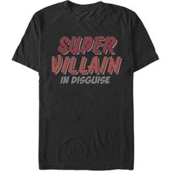 Fifth Sun Men's Tee Shirts BLACK - Black 'Super Villain In Disguise' Tee - Men found on Bargain Bro Philippines from zulily.com for $14.99