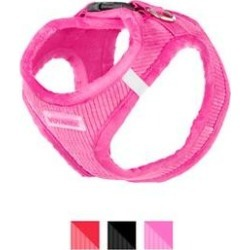 Best Pet Supplies Voyager Corduroy Dog Harness, Fuchsia, Medium found on Bargain Bro India from Chewy.com for $10.80