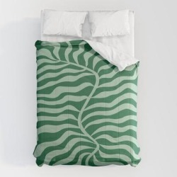 Comforters | Fun Sage: Matisse Edition by Ayeyokp - Queen: 88