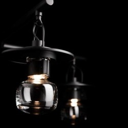Hubbardton Forge Mason 11 Inch Tall 4 Light Outdoor Hanging Lantern - 364212-1005 found on Bargain Bro Philippines from Capitol Lighting for $3517.80