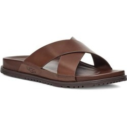 UGG Wainscott Slide Sandal - Brown - Ugg Sandals found on Bargain Bro from lyst.com for USD $76.00