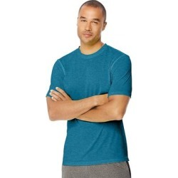 Hanes Sport Men's Heathered Training Tee (Reflector Green Heather - 2XL), Reflector Green Grey(polyester) found on Bargain Bro India from Overstock for $20.70