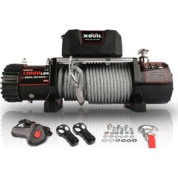 Naisicore 12V Waterproof Steel Cable Electric Winch 13000 Lb Load Capacity For Truck UTV, ATU,SUV, Car w/ Corded Control   Wayfair NS01-3928871 found on Bargain Bro Philippines from Wayfair for $379.99